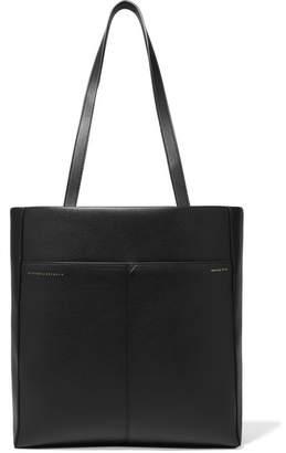 Victoria Beckham Square Leather Tote - Black