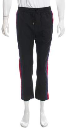 Gucci Woven Web-Trimmed Pants