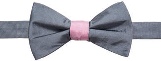 Ryan Seacrest Distinction Men's Contrast Solid Pre-Tied Bow Tie, Created for Macy's