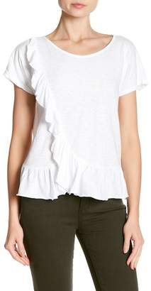 Velvet by Graham & Spencer Ruffled Tee
