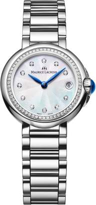 Maurice Lacroix Women's 'Fiaba' Swiss Quartz Stainless Steel Casual Watch, Color:-Toned (Model: FA1003-SD502-170-1)