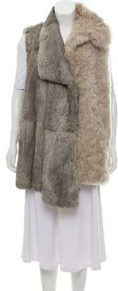 Maison Margiela and Shearling Vest w/ Tags