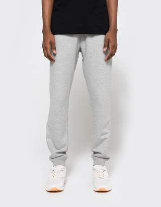 Reigning Champ Core Slim Sweatpant in Heather Grey