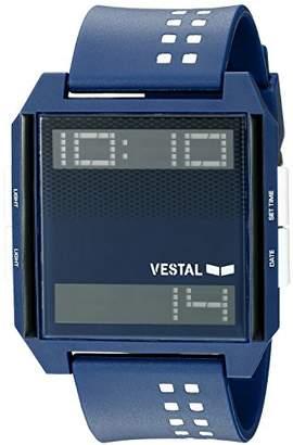 Vestal Unisex DIG038 Digichord Digital Display Quartz Blue Watch