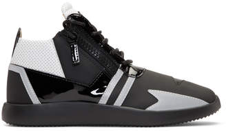 Giuseppe Zanotti Black Single Ulan High-Top Sneakers
