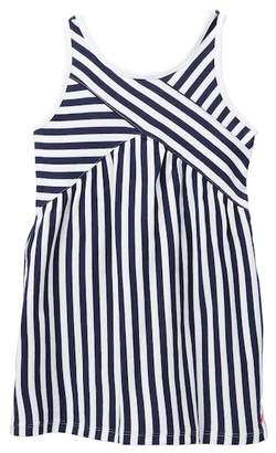 Nautica Mixed Striped Knit Dress (Toddler Girls)