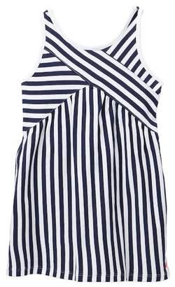 Nautica Mixed Striped Knit Dress (Toddler Girls)