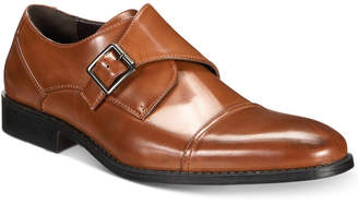 Unlisted by Kenneth Cole Men's Design 30134 Single Monk Strap Loafers Men's Shoes