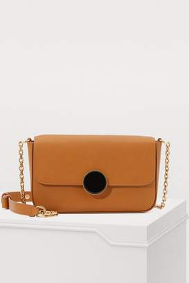 Vanessa Bruno Moon leather shoulder bag