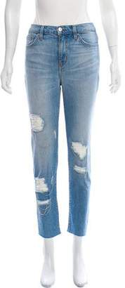 IRO High-Rise Distressed Jeans w/ Tags
