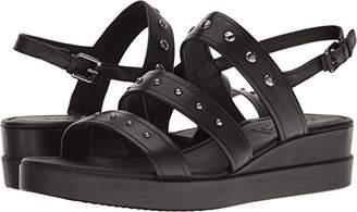 Ecco Women's Touch Strap Plateau Wedge Sandal