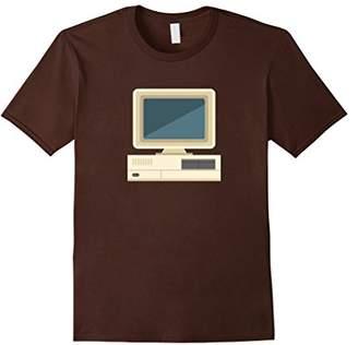 Retro PC Desktop Print T-Shirt