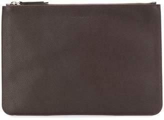 Orciani logo zipped pouch