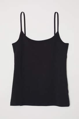 H&M Jersey Camisole Top - Black