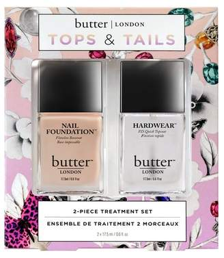 butter LONDON Tops & Tails 2-Piece Nail Lacquer Set