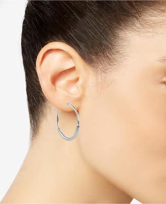 Charter Club Wire-Wrapped Hoop Earrings, Created for Macy's