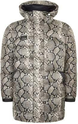 Heron Preston Python Print Puffer Coat