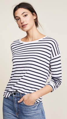 Splendid Zander Striped Long Sleeve Tee