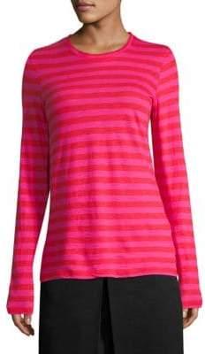 Proenza Schouler Striped Long Sleeve Top