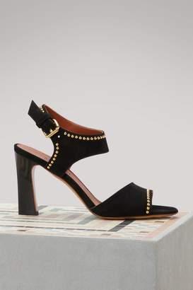 Michel Vivien Janet studded sandals
