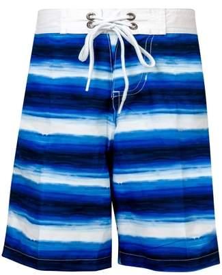 Ombre Stripe Board Shorts