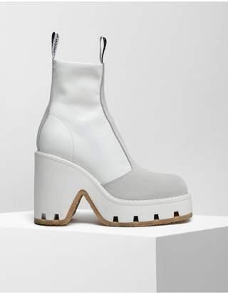 MM6 MAISON MARGIELA Textured Ankle Boots