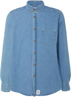 Nanushka Elio Cotton-Chambray Shirt