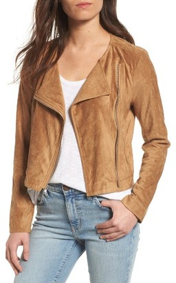 Women's Bb Dakota Allerton Faux Suede Jacket $120 thestylecure.com