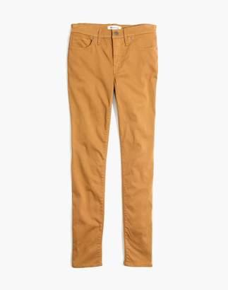 "Madewell Tall 9"" High-Rise Skinny Sateen Jeans"
