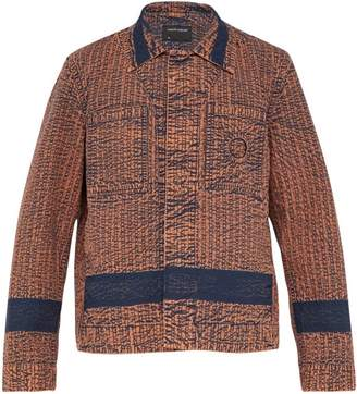 Craig Green Worker Acid Wash Jacket - Mens - Brown