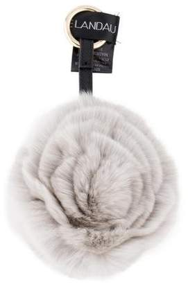 Adrienne Landau Rabbit Fur Bag Charm