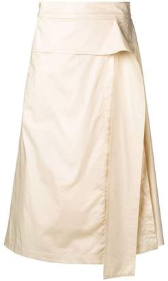 0a0014568b Cream Pleated Skirt - ShopStyle