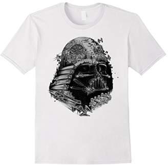 Star Wars Darth Vader Build The Empire Graphic T-Shirt
