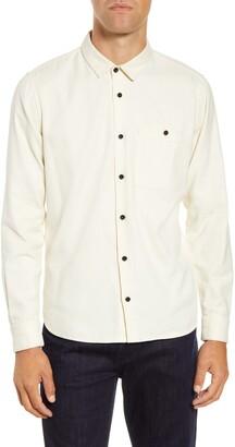 BHLDN Mori Regular Fit Button-Up Flannel Shirt