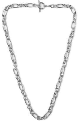 Oxidised Silver-Tone Necklace