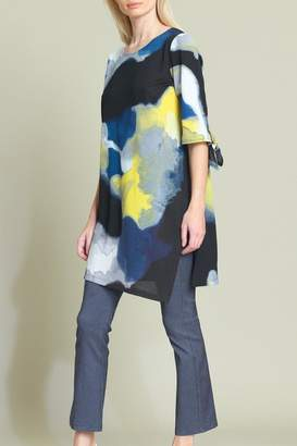 Clara Sunwoo Watercolor Print Tunic