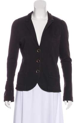 Marc by Marc Jacobs Notched Lapel Long Sleeve Blazer