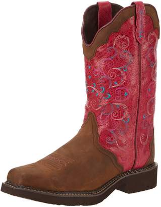 """Justin Boots Women's Gypsy Collection 12"""",-BROWN"""