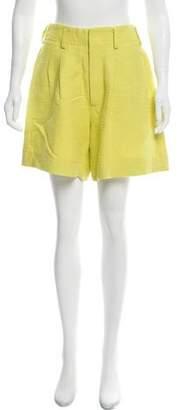 Apiece Apart Bouclé Tailored Shorts