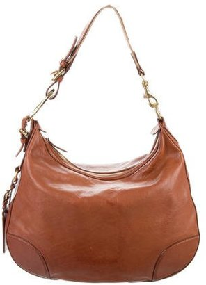 Ralph Lauren Leather Hobo $195 thestylecure.com