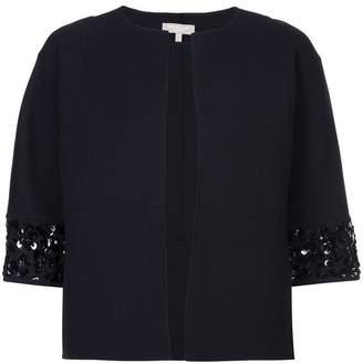 Michael Kors sequin-embellished open-front jacket