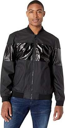 Sean John Men's Waterproof Baseball Jacket