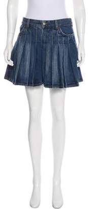 Burberry Denim Mini Skirt blue Denim Mini Skirt