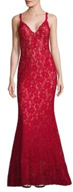 Jovani Embellished Lace Gown $500 thestylecure.com
