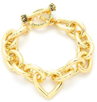 Juicy Couture Heart Link Statement Bracelet