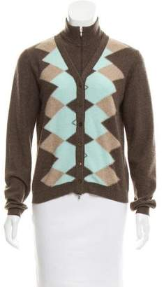 Arabella Rani Layered Cashmere Cardigan