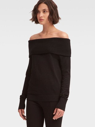 DKNY Off-The-Shoulder Sweater