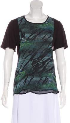 Timo Weiland Silk Knit Top