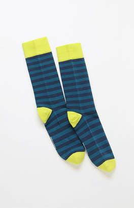 Richer Poorer Theo Stripe Crew Socks
