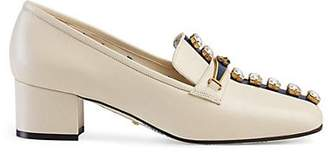 Gucci Women's Leather Pumps - White